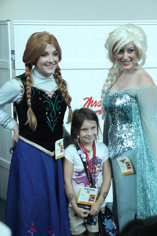 Comic-Con 2014: Cosplay per le protagoniste di Frozen