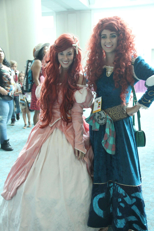 Comic-Con 2014: Cosplay - La principessa Ariel e la coraggiosa Merida