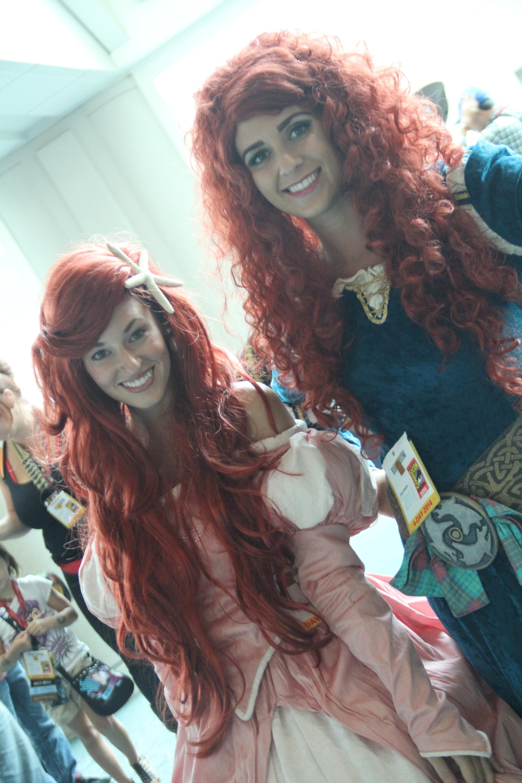 Comic-Con 2014: Cosplay di Ariel e Merida