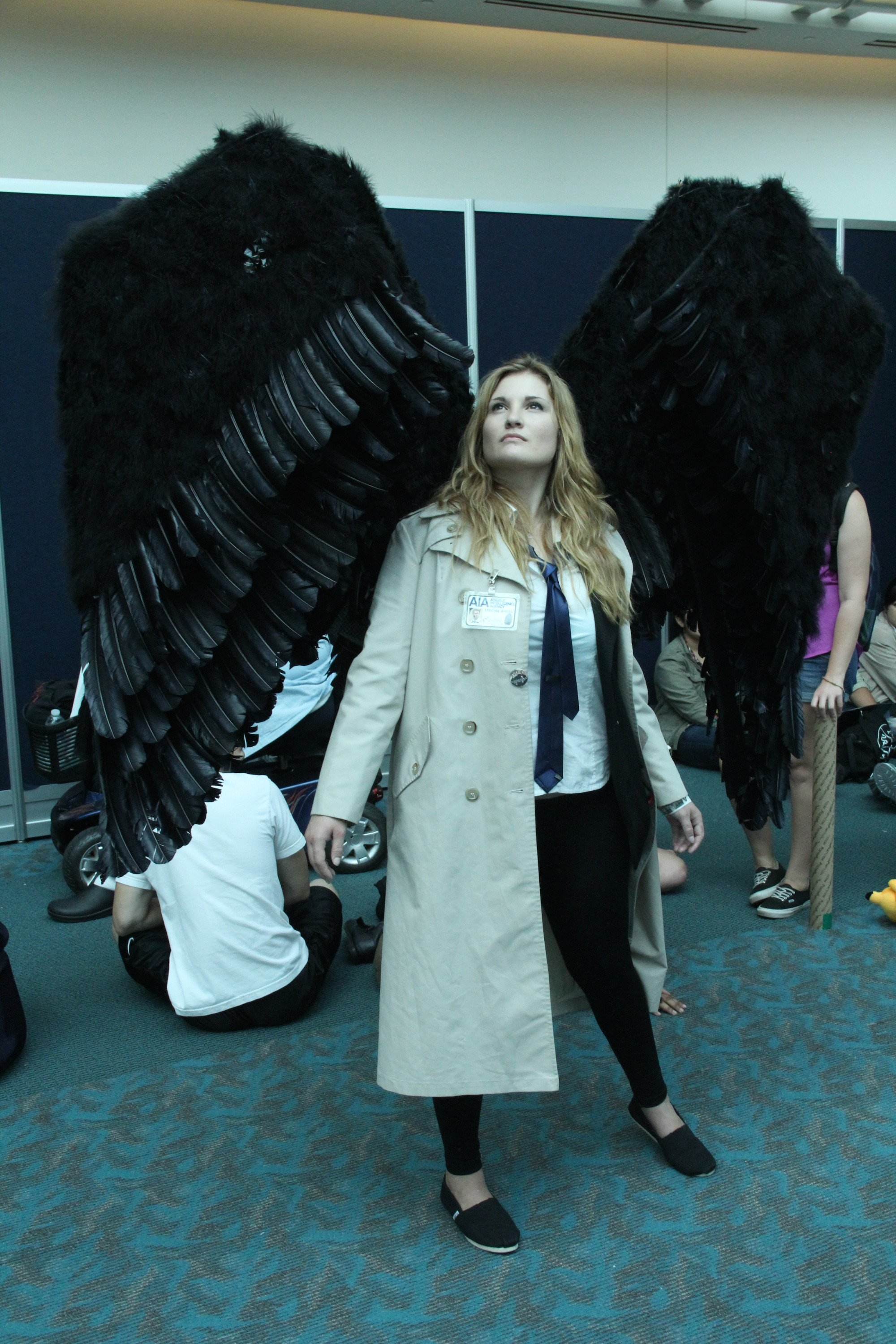 Comic-Con 2014: Cosplay - Castiel, Angel of the Lord