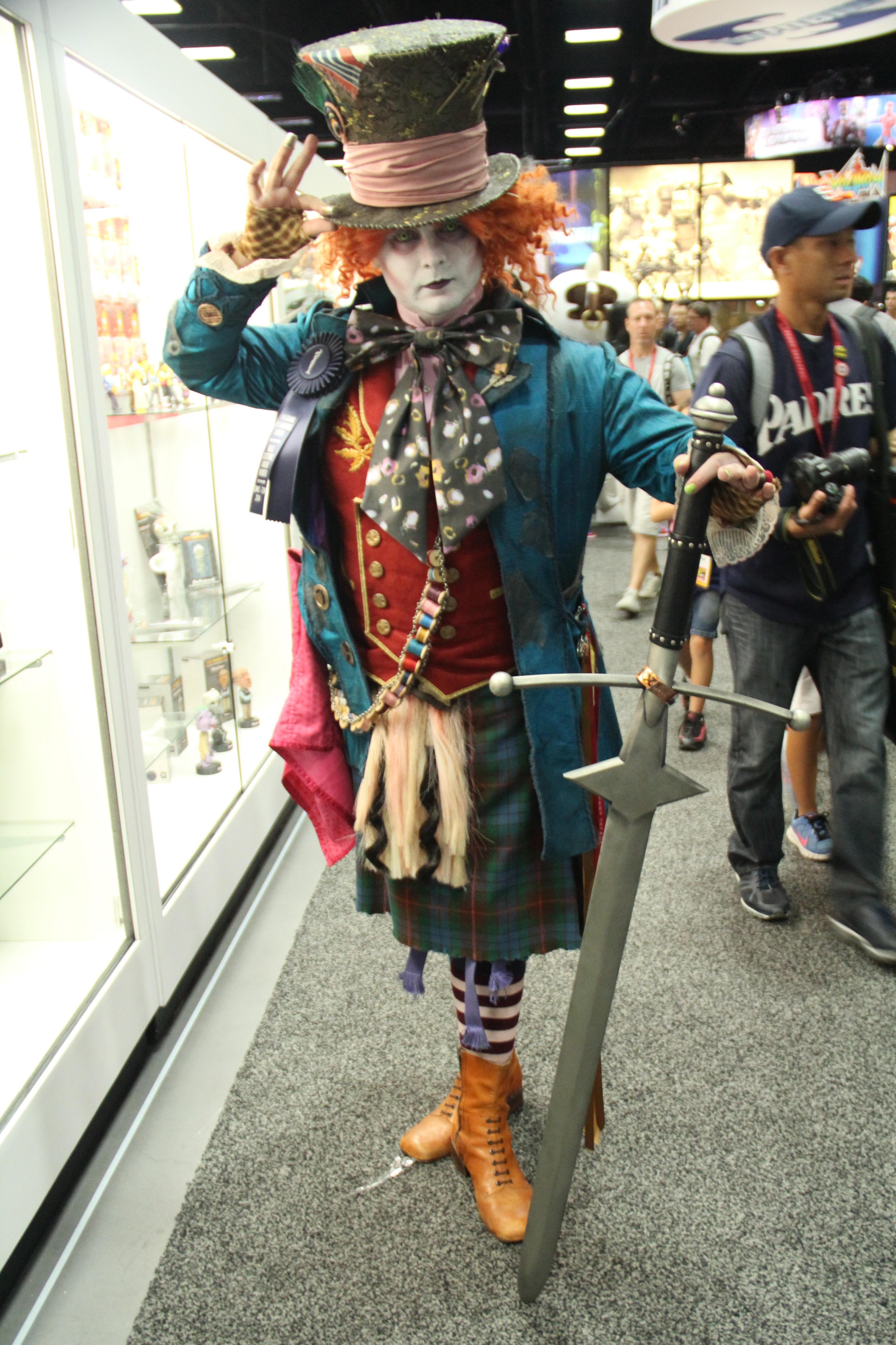 Comic-Con 2014: Cosplay - Il Cappellaio Matto di Alice in Wonderland