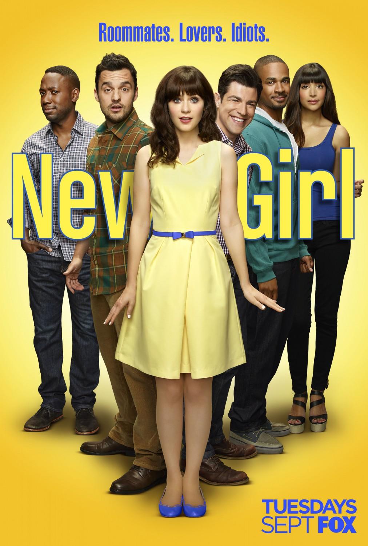 New Girl: un poster della quarta stagione