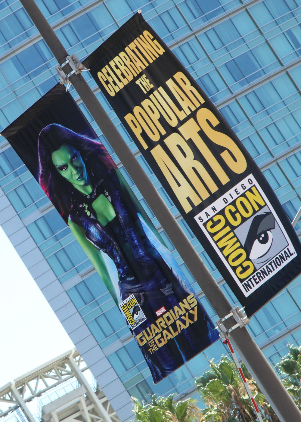 Comic-Con 2014: poster di Guardians of the Galaxy al festival di San Diego