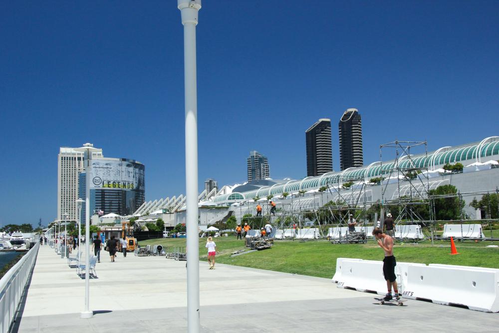 Comic-Con 2014: uno scatto dall'area del festival di San Diego