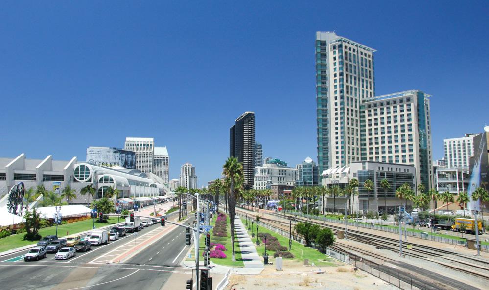 Comic-Con 2014: l'area del festival di San Diego