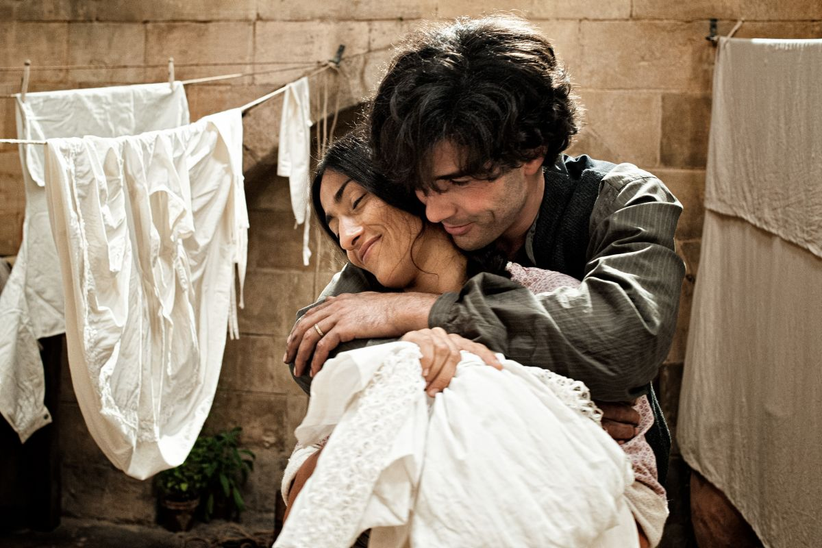 The Cut: Tahar Rahim con Sesede Terziyan in una scena del film