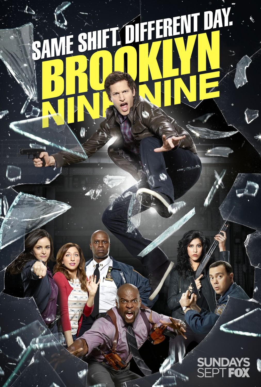 Brooklyn Nine-Nine: un poster della stagione 2