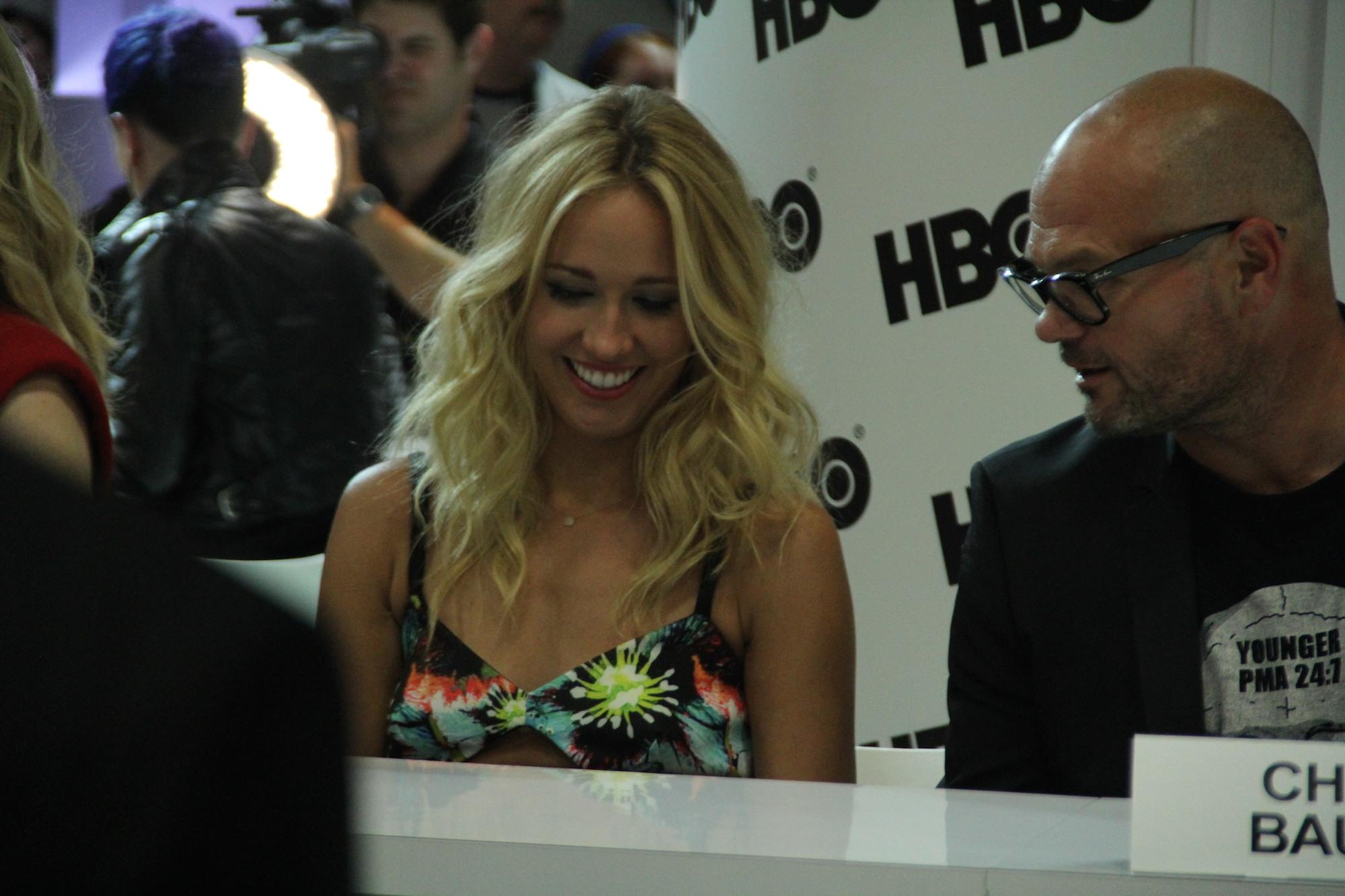 Comic-Con 2014: un'immagine di Anna Camp di True Blood