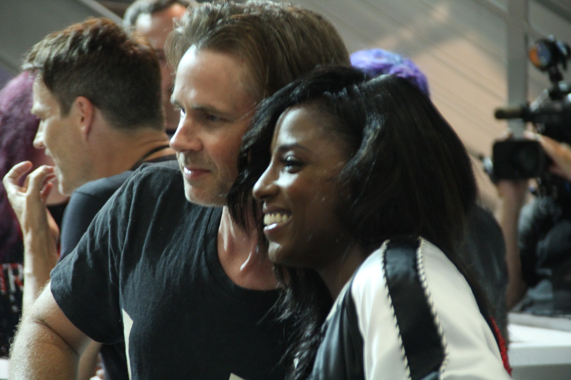 Comic-Con 2014: Sam Trammell e Rutina Wesley di True Blood
