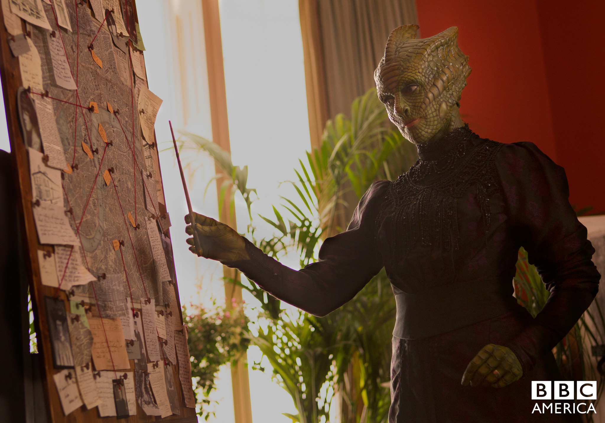 Doctor Who: Neve McIntosh nell'episodio Deep Breath