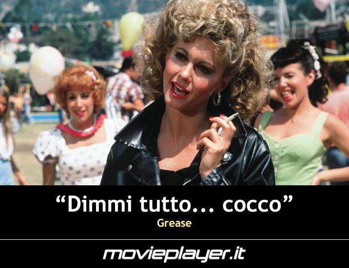 Olivia Newton John in Grease - una frase del film
