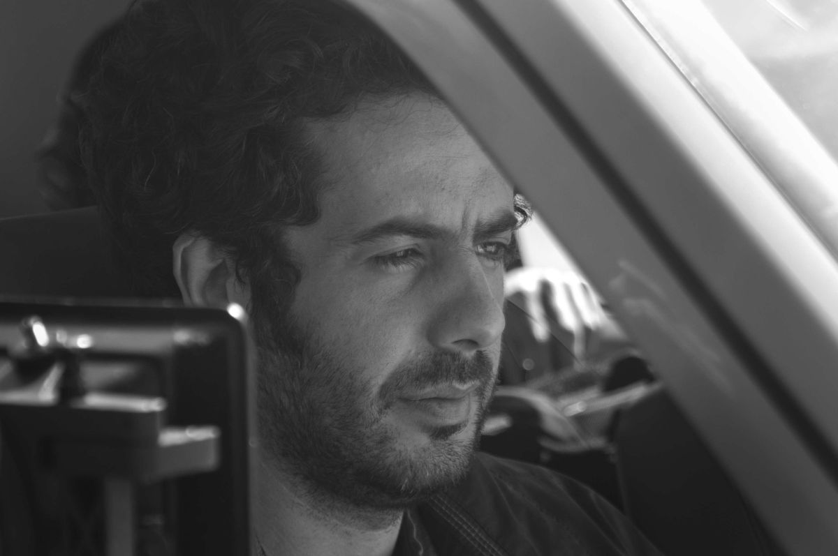 Perfidia: Stefano Deffenu durante le riprese del film
