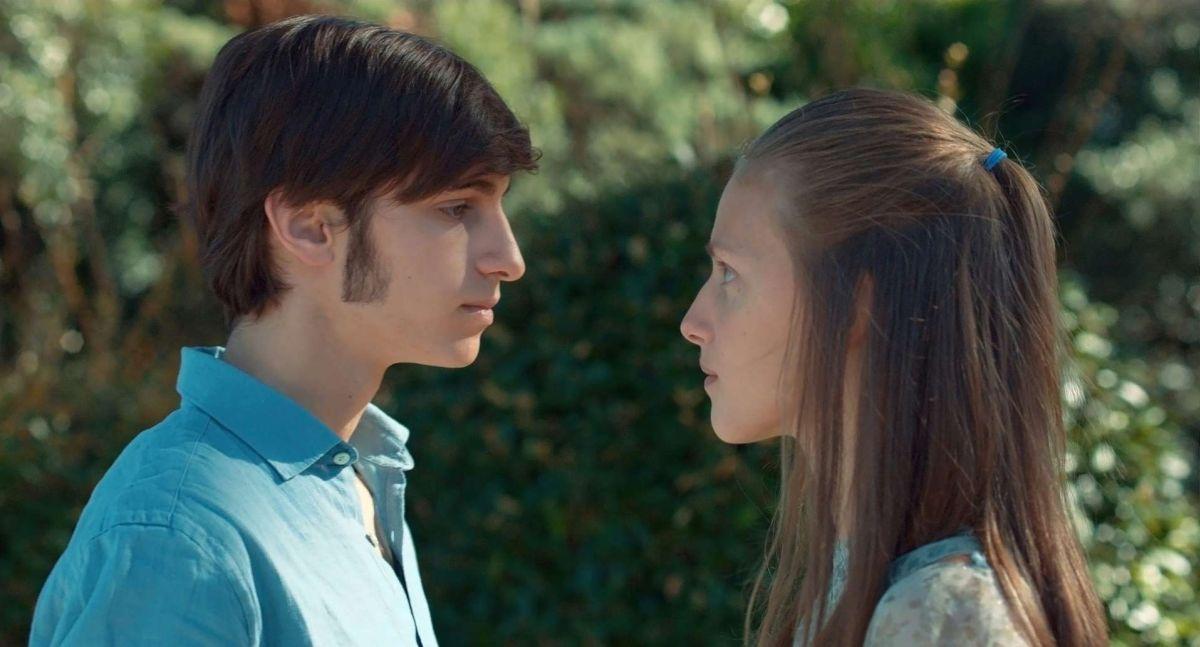 La Sapienza: Arianna Nastro e Ludovico Succio in una scena del film