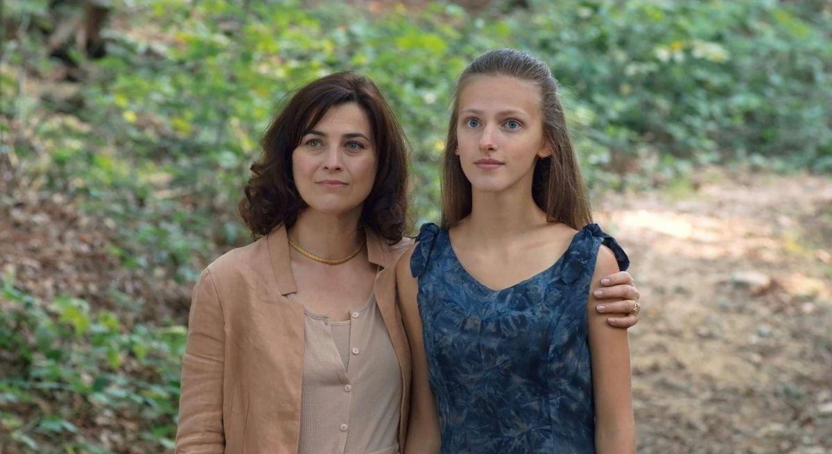 La Sapienza: Christelle Prot in una scena del film con Arianna Nastro