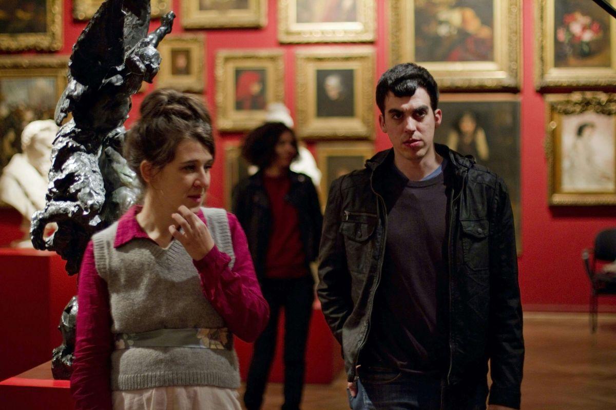 The Princess of France: María Villar con Julián Larquier Tellarini in una scena del film