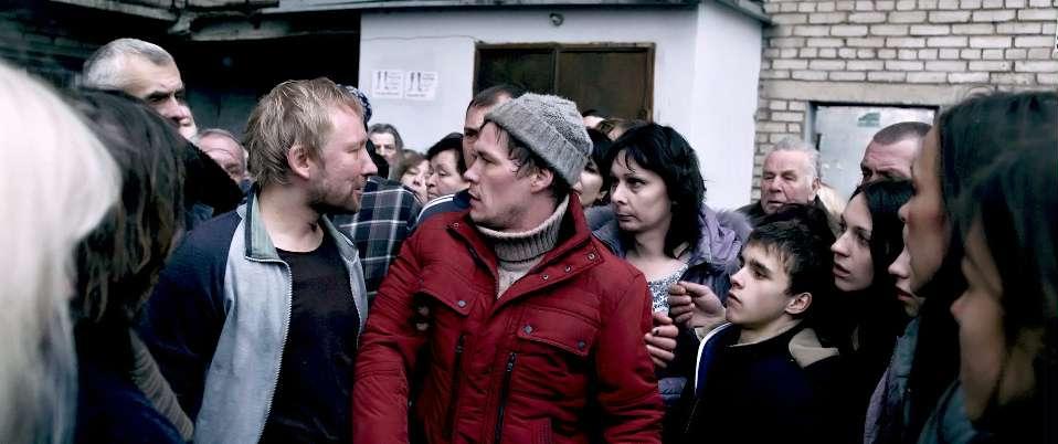 The Fool: Artem Bystrov in una concitata scena del film