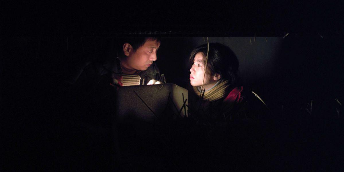 Alive: una buia scena del film