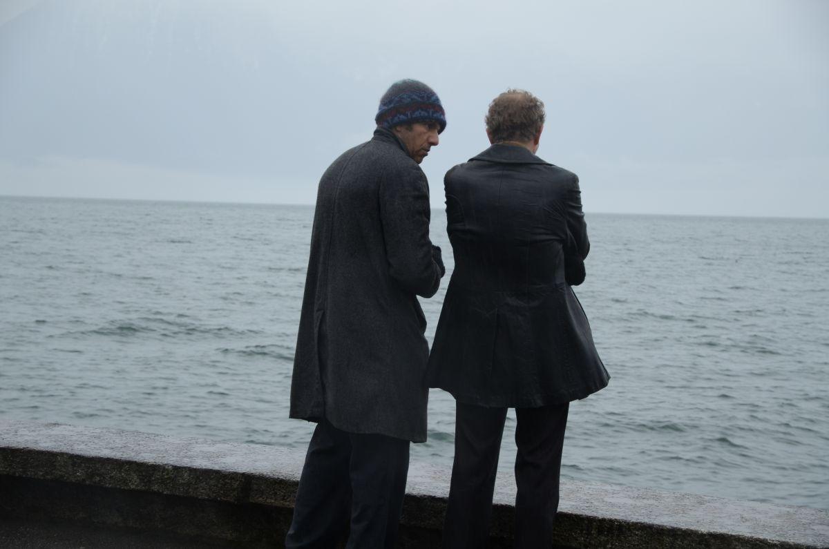 Benoît Poelvoorde e Roschdy Zem in una scena di The price of fame