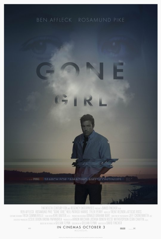 L'amore bugiardo - Gone Girl: una nuova angosciante locandina americana
