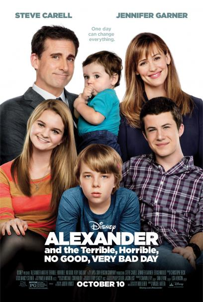 Alexander and the Terrible, Horrible, No Good, Very Bad Day: il poster prima della catastrofe