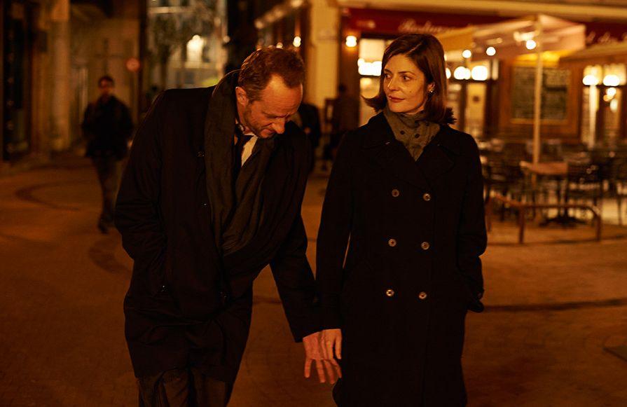 Benoît Poelvoorde e Chiara Mastroianni in Tre cuori