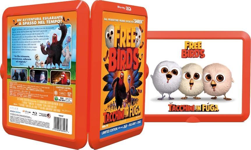 La cover FR4ME di Free Bird - Tacchini in fuga