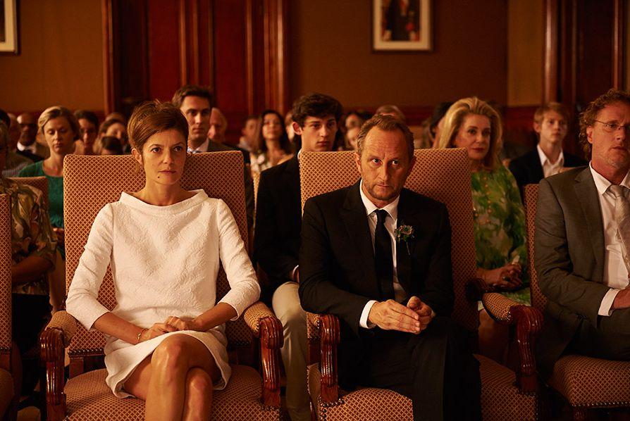 Tre cuori: Benoît Poelvoorde e Chiara Mastroianni in una scena del film