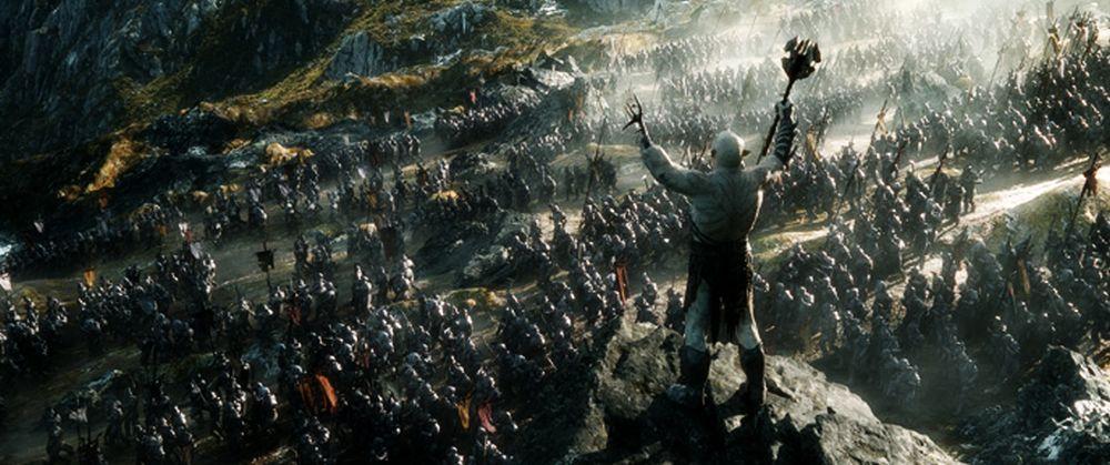 Una scena tratta da Lo Hobbit: La Battaglia delle Cinque Armate