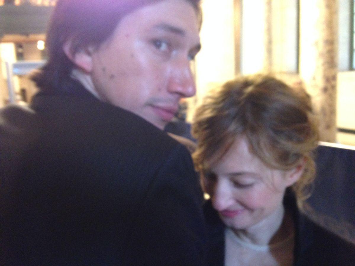 Hungry Hearts: Adam Driver e Alba Rohrwacher in una scena del film
