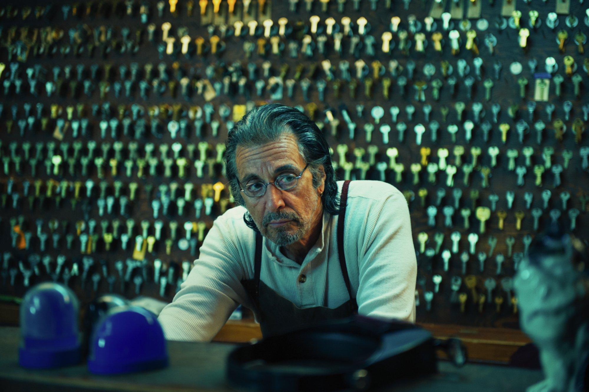 Al Pacino nei panni di un fabbro dal passato criminale in Manglehorn