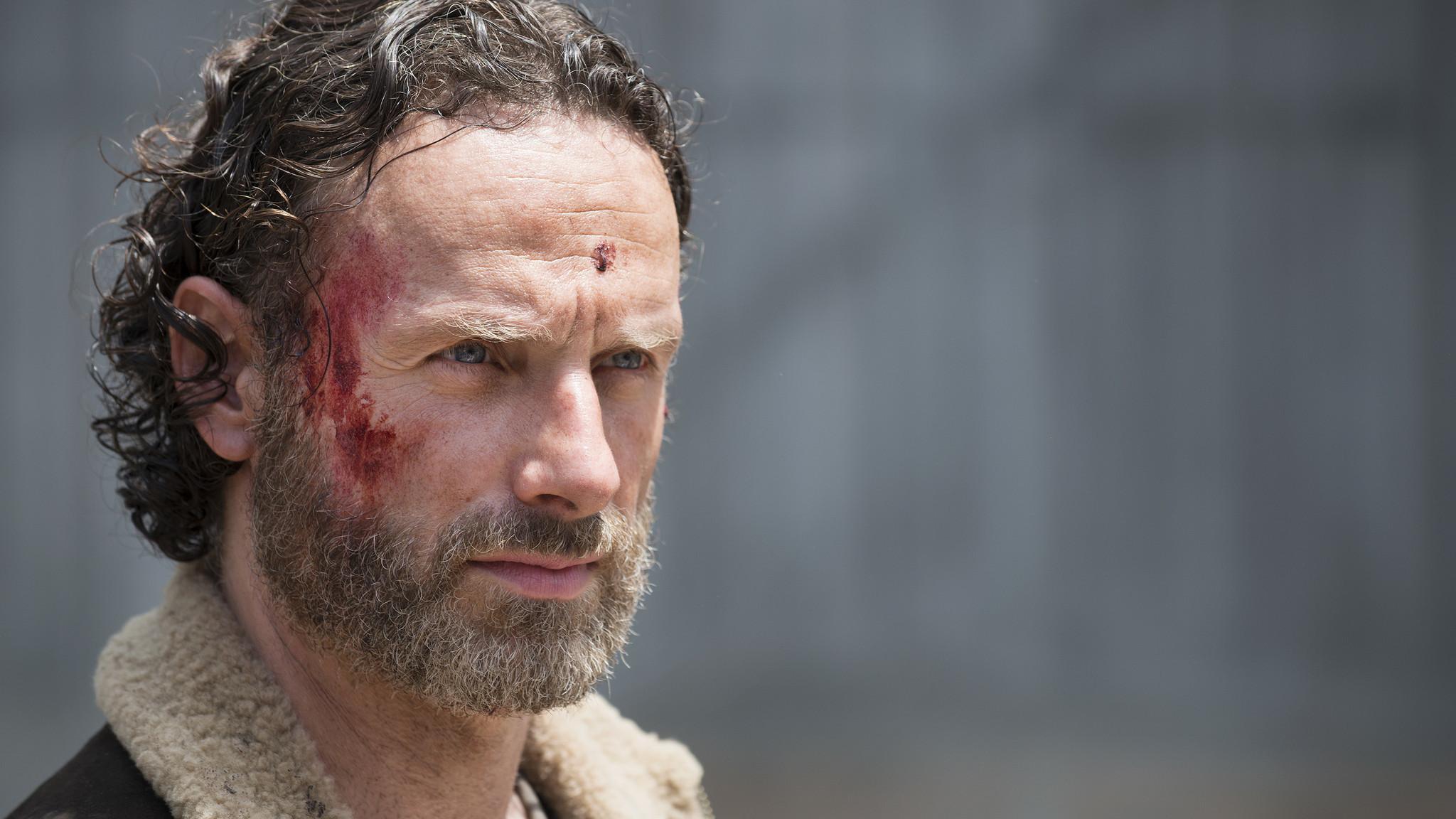 The Walking Dead: Andrew Lincoln nella premiere della stagione 5