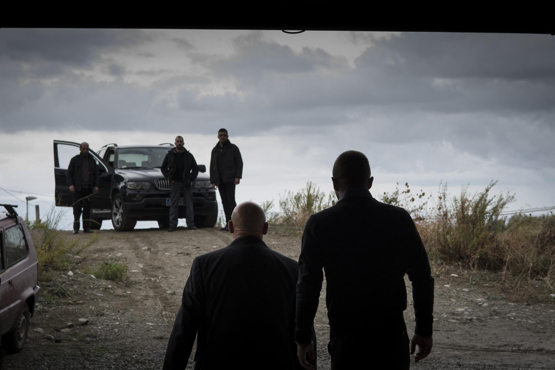 Anime nere: una scena del film
