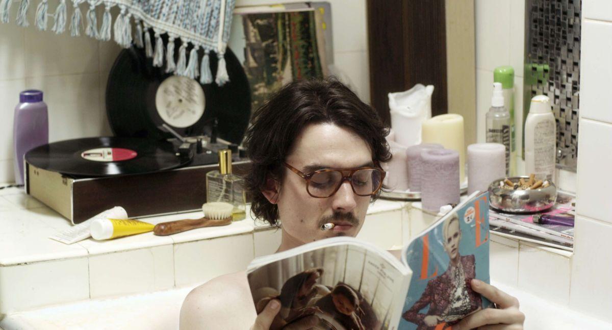 Pause: Baptiste Gilliéron in una scena del film