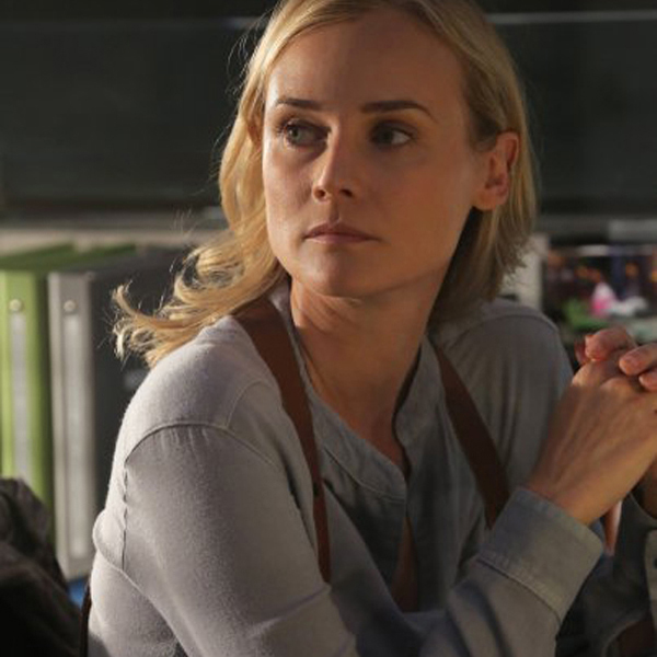 The Bridge: Diane Kruger in una scena dell'episodio Eye of the Deep