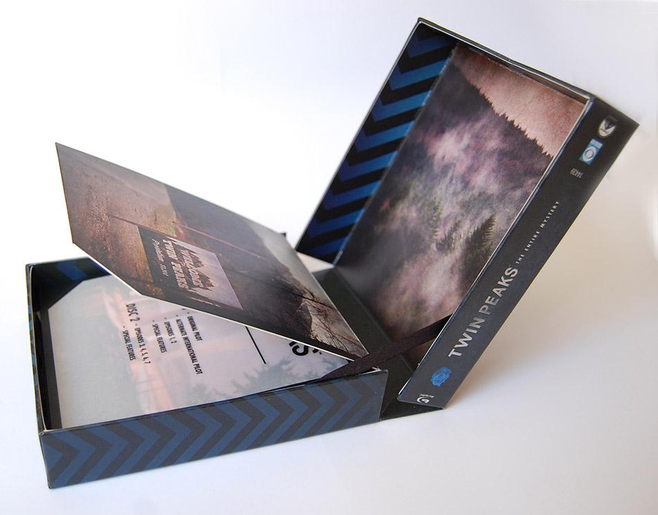Twin Peaks - The Entire Mistery: una foto del cofanetto