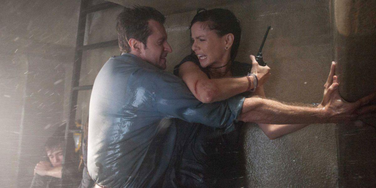 Into the Storm: Richard Armitage con  Sarah Wayne Callies in una scena del film