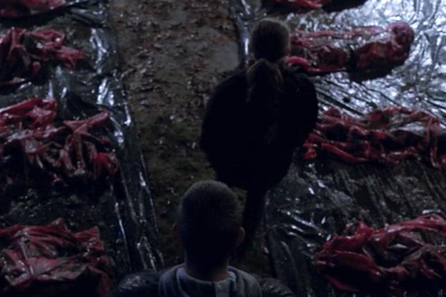 The Killing: una scena drammatica nell'episodio Dream Baby Dream