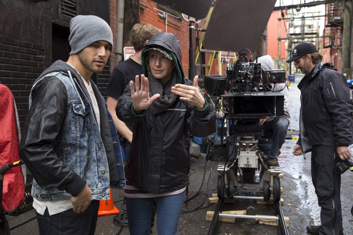 Step Up All In: Trish Sie, regista del film, sul set con Ryan Guzman