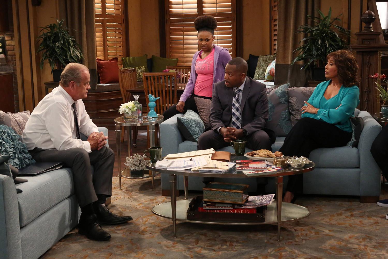 Partners: una scena dell'episodio They Come Together