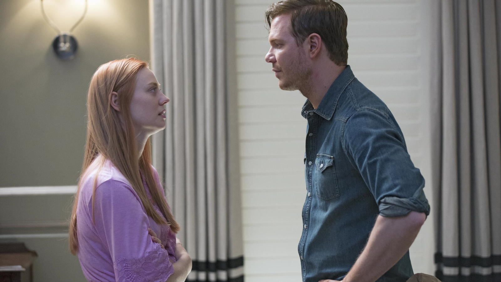 True Blood: Jim Parrack e Deborah Ann Woll nell'episodio Almost Home