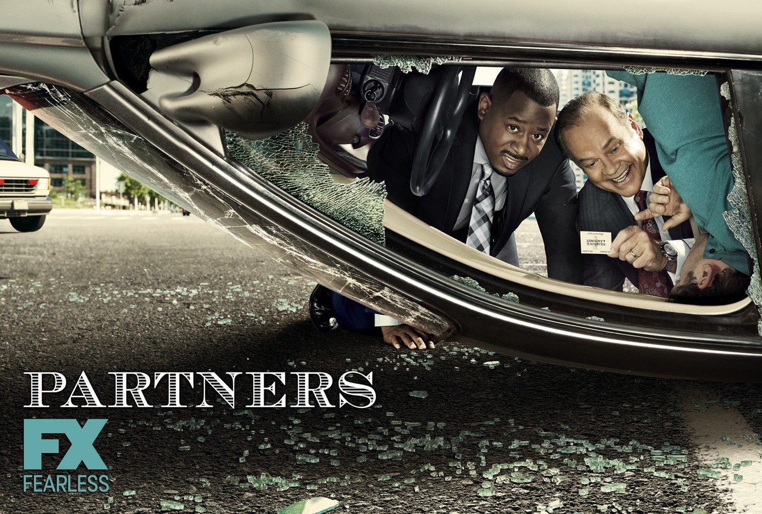 Partners: un wallpaper per la comedy della FX