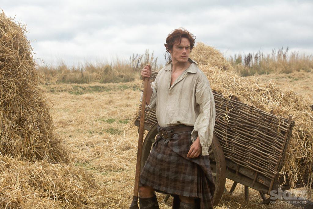 Outlander: Sam Heughan nel pilot della serie
