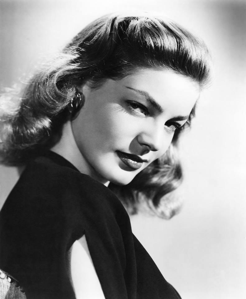 Lauren Bacall, un bel ritratto della diva