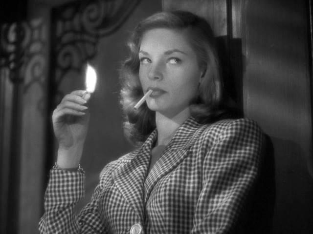 Lauren Bacall in Acque del Sud