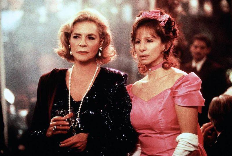 Lauren Bacall con Barbra Streisand ne L'amore ha due facce