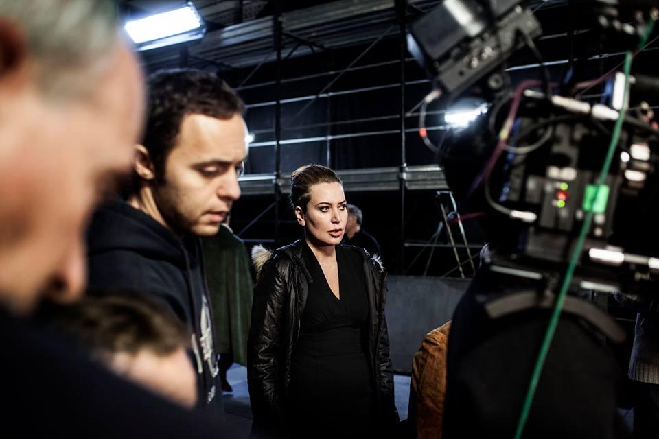 La trattativa: Sabina Guzzanti sul set del suo film
