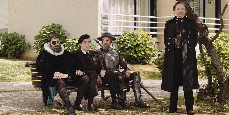The Old Man of Belem: una scena del film