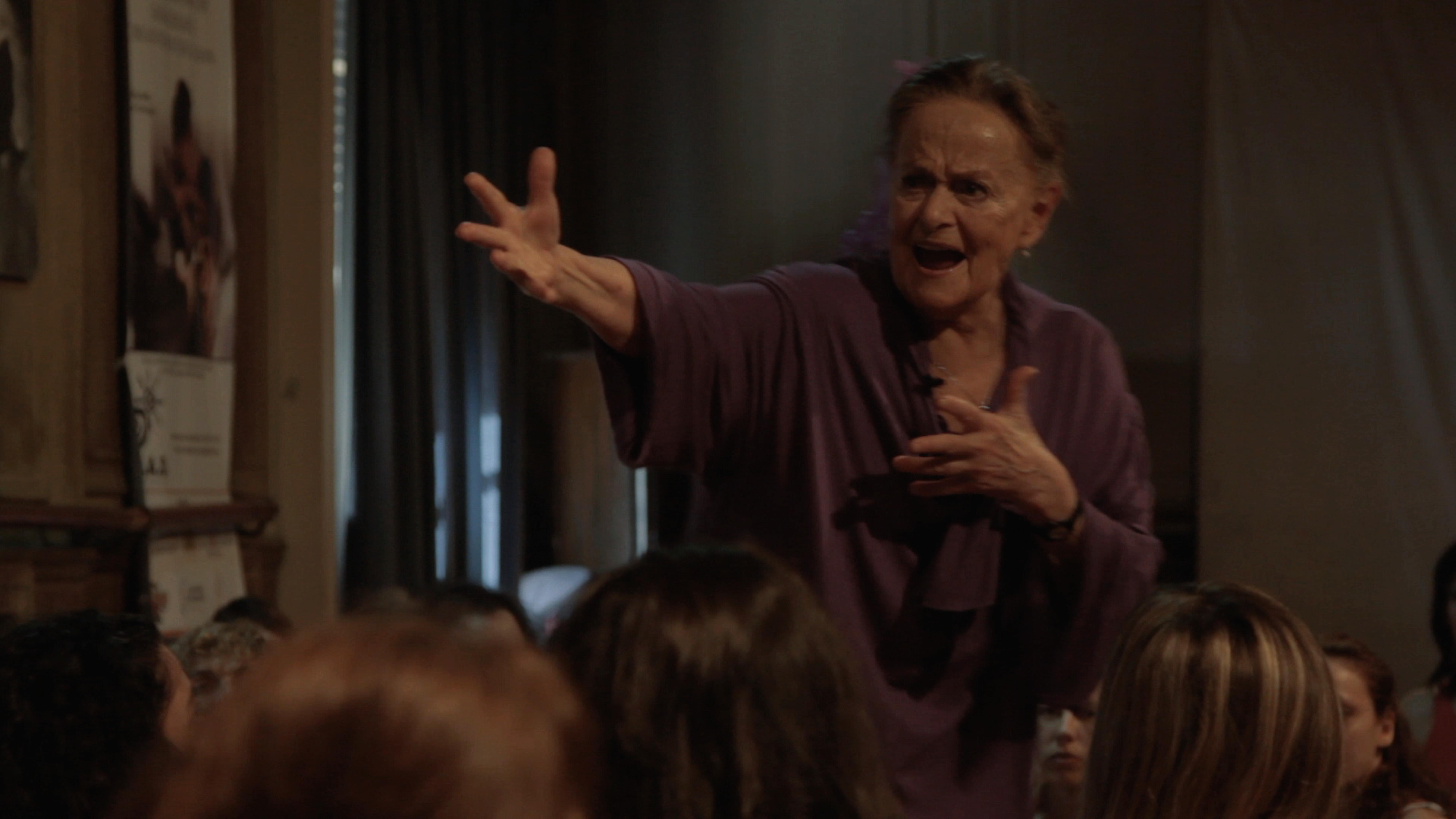 Dancing with Maria: un'esibizione canora di Maria Fux nel biopic a lei dedicato