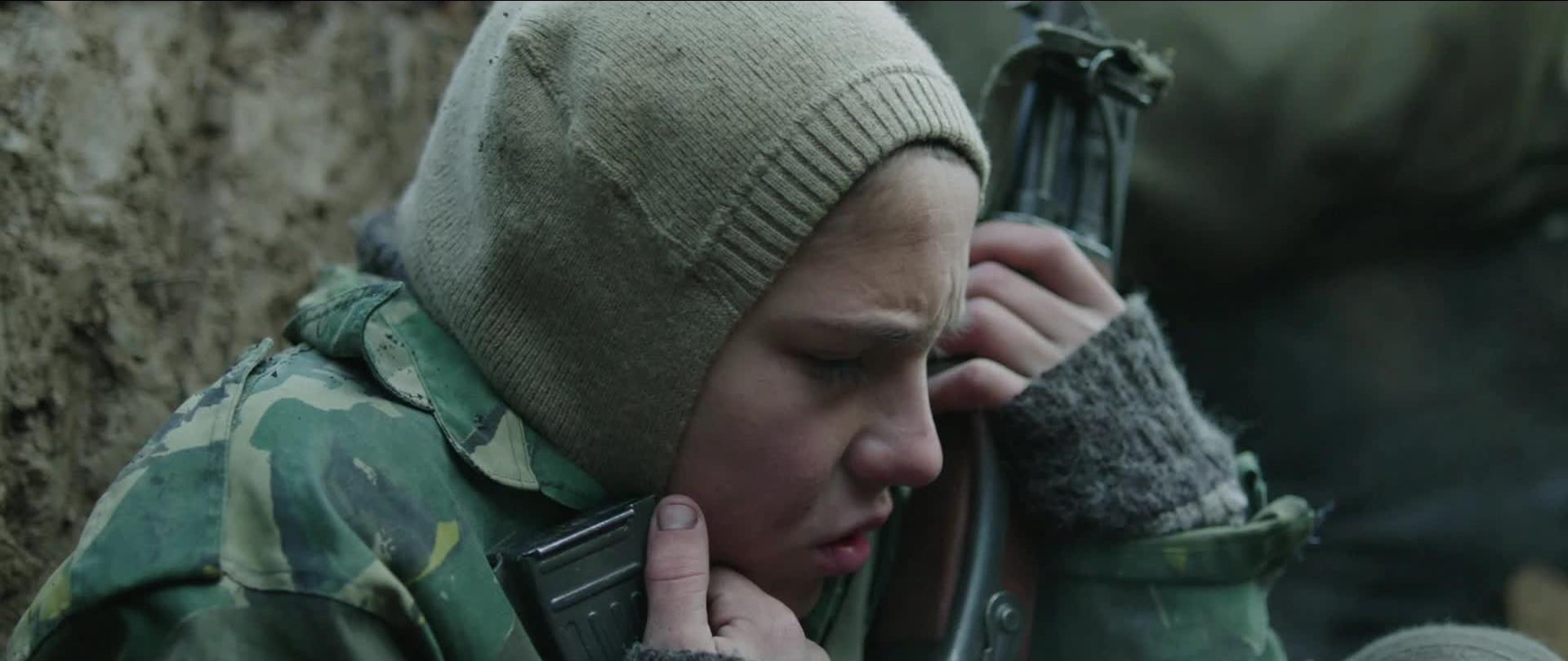 No One's Child: il giovane Denis Muric in una scena del dramma di Vuk Rsumovic