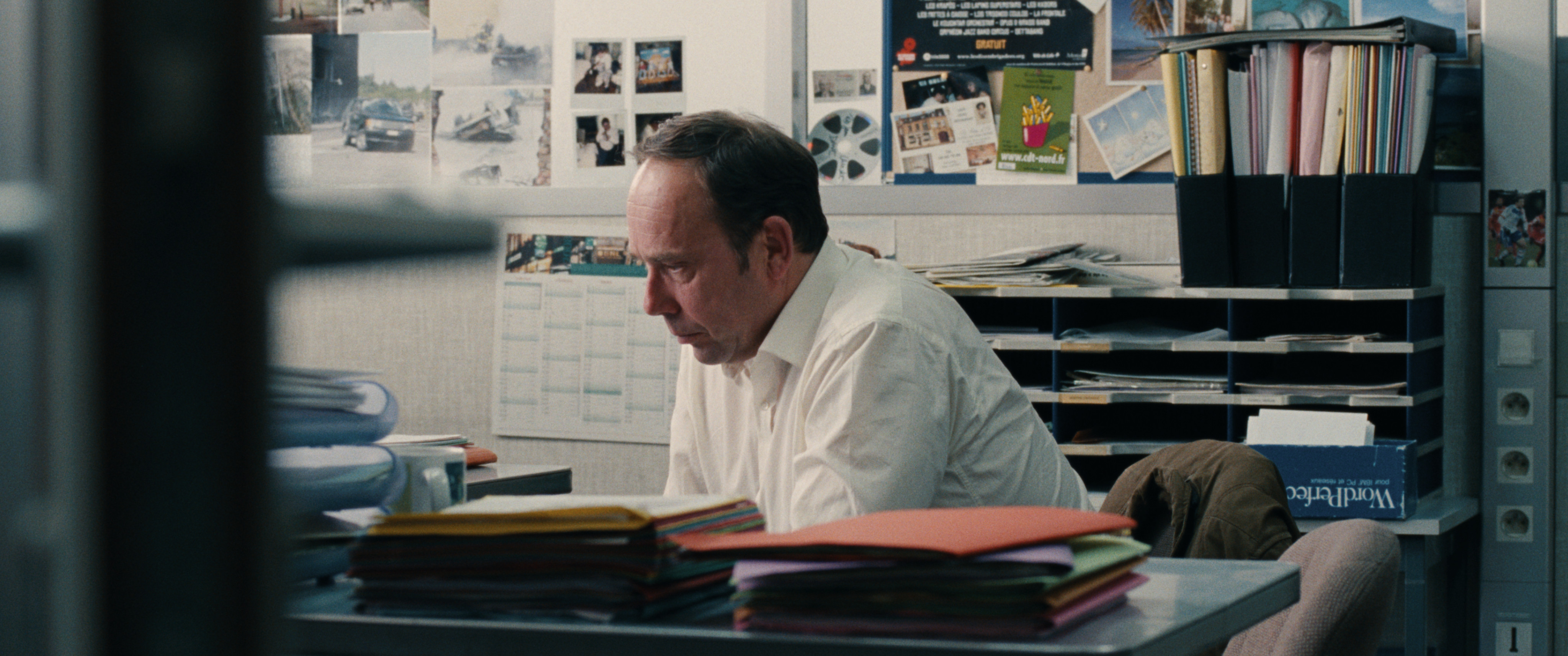 Terre battue: Olivier Gourmet in una scena del film di Stéphane Demoustier